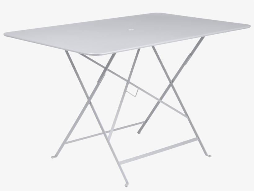 Fermob Bistro 117 X 77cm Folding Table - /25/fuchsia, transparent png #3227843
