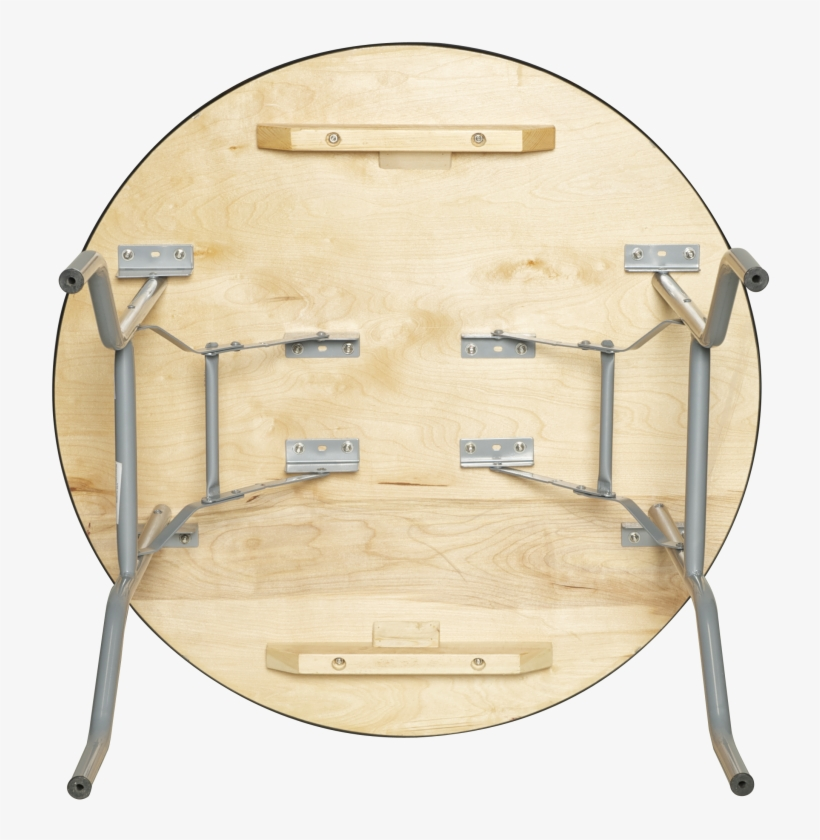 """European Birch 36"""" Round Wood Banquet Folding Table - Pre Sales Round Table W Birch Plywood Top, transparent png #3228220"""