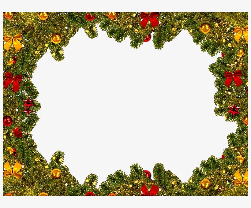 Christmas Border Frame Free - Christmas Day, transparent png #3228406