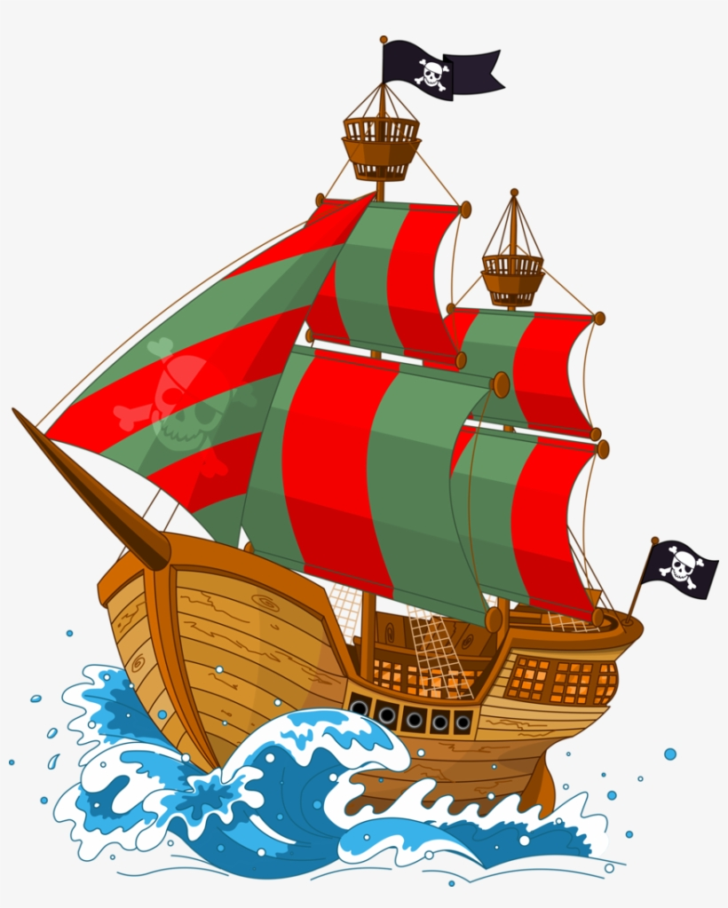 Фото, Автор Soloveika На Яндекс - Pirate Ship Vector, transparent png #3228934