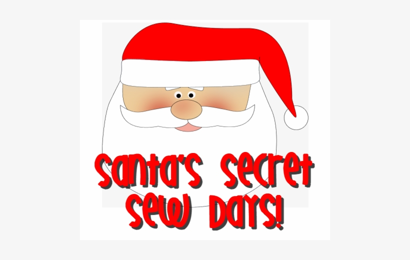 If Santa Is Having A Hard Time Getting His Sewing Projects - Santa's Sleigh And Reindeer, transparent png #3229473