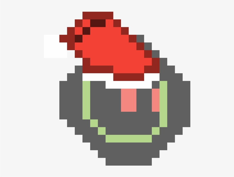 Starbound Player Model Head Santa Hat - Terraria Zombies, transparent png #3229546