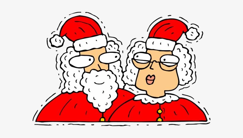 Santa Claus 04 Clipart Png - Santa Claus And Mrs Claus Png, transparent png #3229569