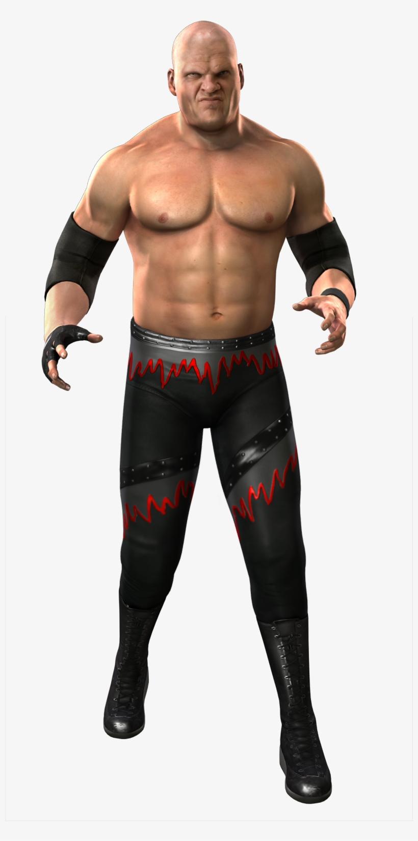 Kane Svr2011 Render - Smackdown Vs Raw 2011 Kane, transparent png #3231357