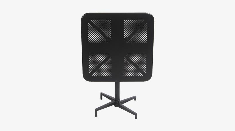 """30""""x30"""" Indoor/outdoor Metal Folding Table In Black - 30"""" X 30"""" Indoor/outdoor Metal Folding Table In Red, transparent png #3233146"""