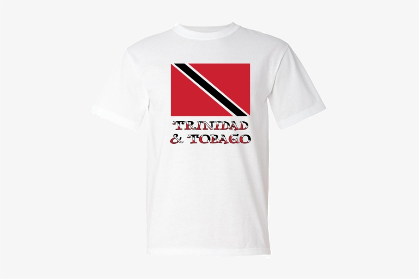 Trinidad & Tobago Flag & Words American Made T-shirt - Don T Blame Me I M From Massachusetts, transparent png #3233153