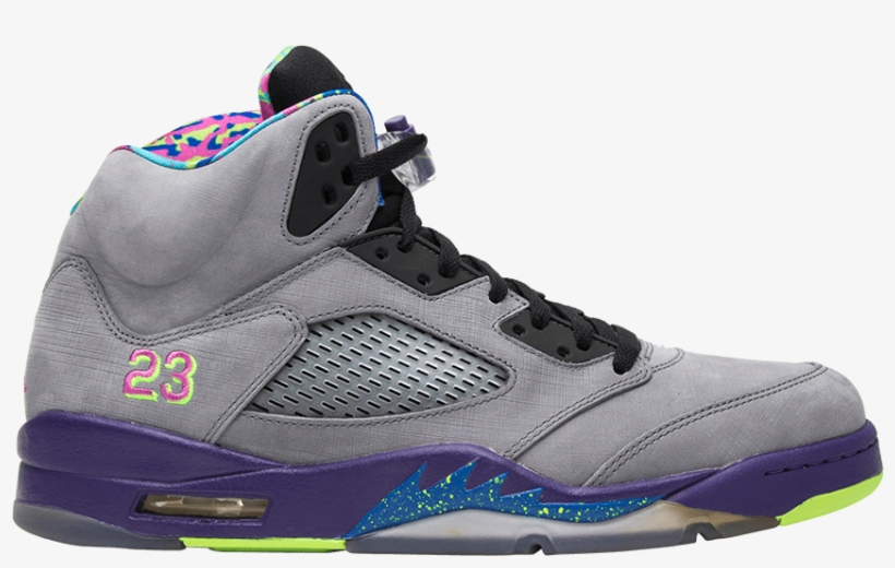 Air Mens Jordan 5 Retro 'bel Air' Sneakers, transparent png #3234303