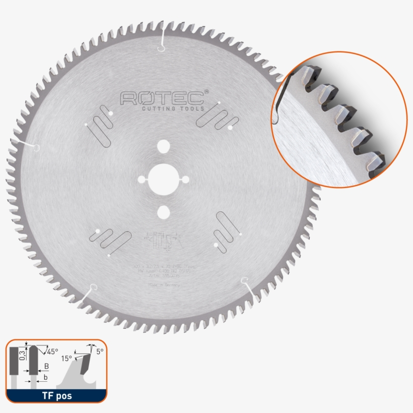 Tct Saw Blade For Non Ferrous Metals - Dart Dar Gold Circ. Saw Blade 305 X 30 X Z32, transparent png #3234911