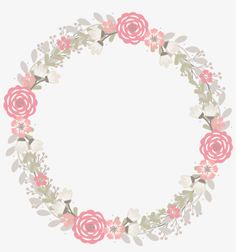 Frame Marco Flores Flower Pink Vintage Kawaii Marco Flores Vintage