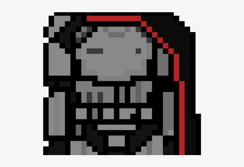Pixel Clipart Star War Minecraft Pixel Art Captain Phasma
