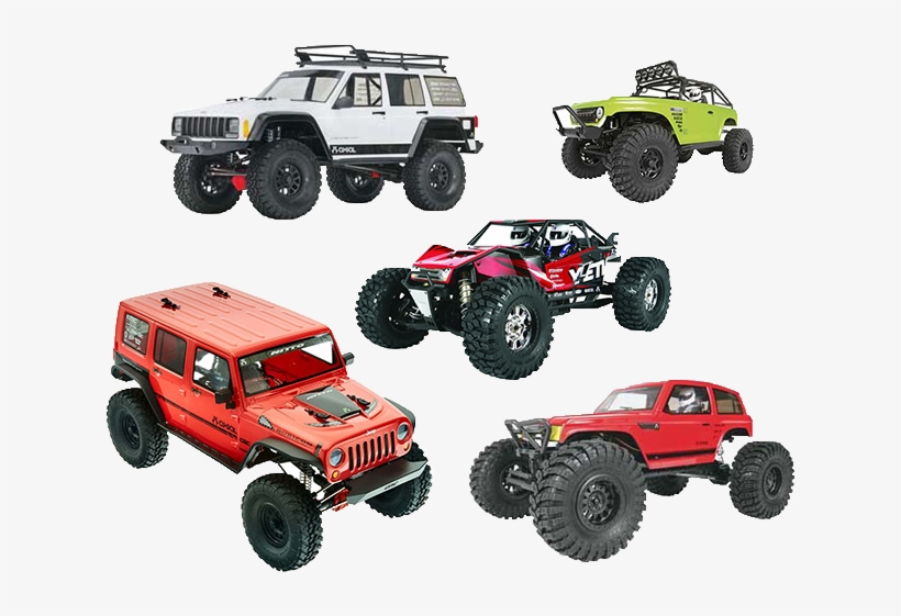 Complete Axial Kits - Axial 1/10 Wraith Spawn 4wd Kit, transparent png #3237359