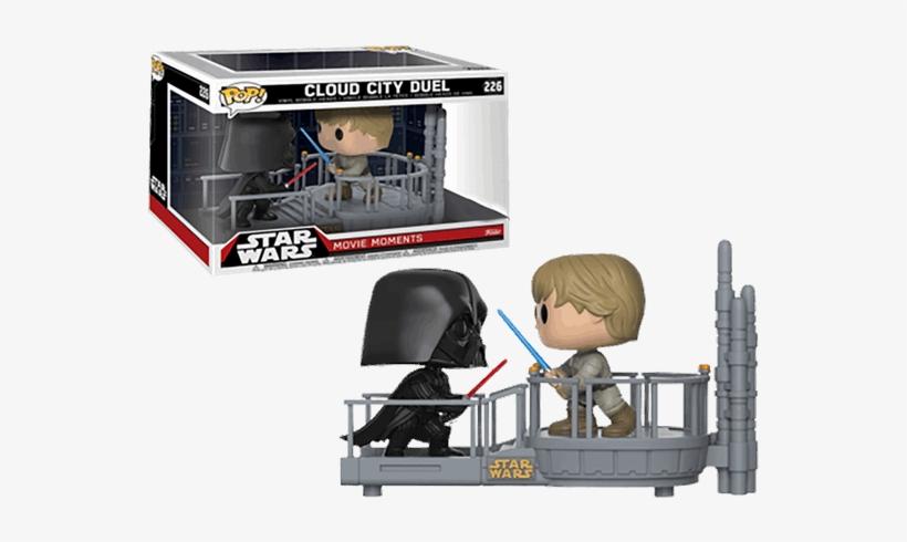 Darth Vader And Luke Skywalker Cloud City Duel Movie - Funko Pop Star Wars Movie Moments, transparent png #3237574