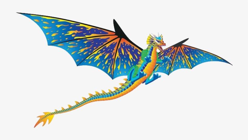 3d Supersized Dragon Kite - Brainstorm Dragon Windnsun 3-d Nylon Kite, 76, transparent png #3238329