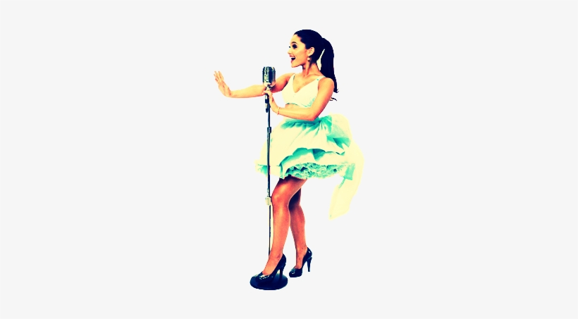 Online Singing Lessons - Ariana Grande Sing Png, transparent png #3239840