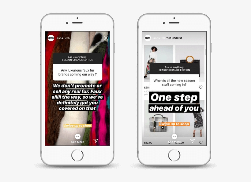 How Asos Are Using Instagram Stories Instagram Free Transparent Png Download Pngkey