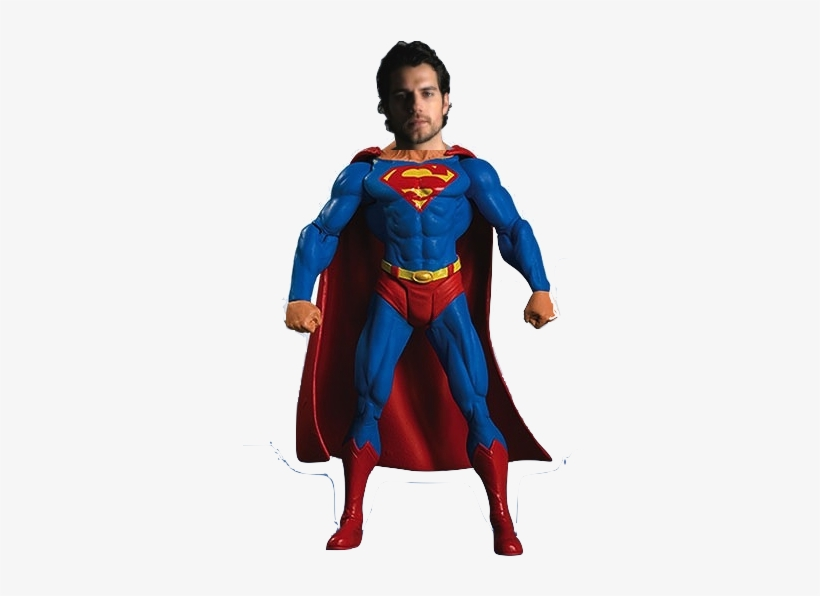 """Be The First To Comment On """"henry Cavill - Dc Comics Superman Batman Series 6 Superman Action, transparent png #3241383"""