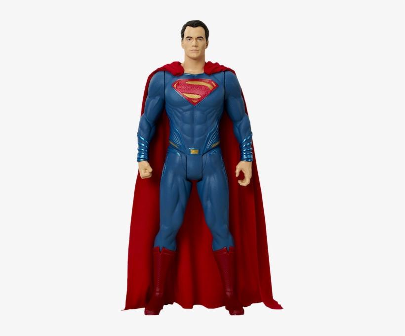Dawn Of Justice Superman Big Figs By Jakks Pacific - Batman Vs Superman Big Figs 19'' Superman Action Figure, transparent png #3241483