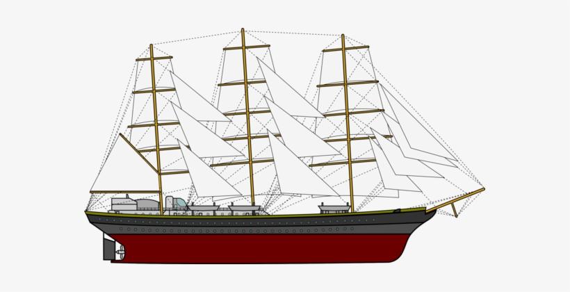 Sailboat Sailing Ship - Sailing Boat Clipart, transparent png #3241576