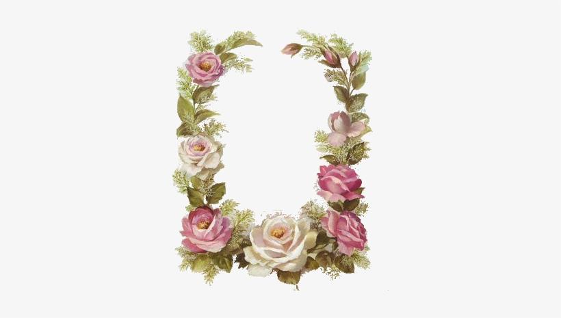 Vintage Floral Frame - Flower Vintage Border A4, transparent png #3244273
