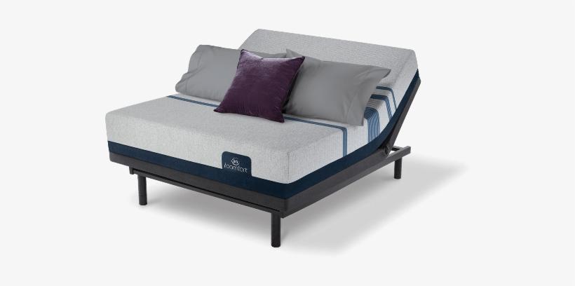 Serta Icomfort Blue 500 Plush Meiii - Serta Icomfort Blue 500 Plush King, transparent png #3246192