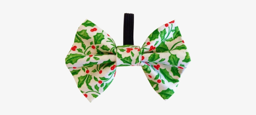 Green Christmas Bow Png Hair Tie Free Transparent Png Download