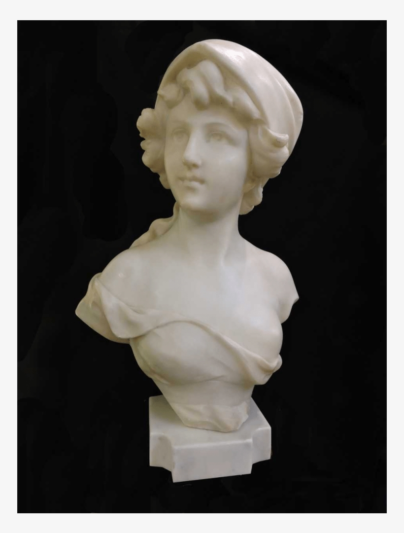 4863cfed9aa27 Italian Large Marble Bust - 月 神 石膏 像 - Free Transparent PNG ...