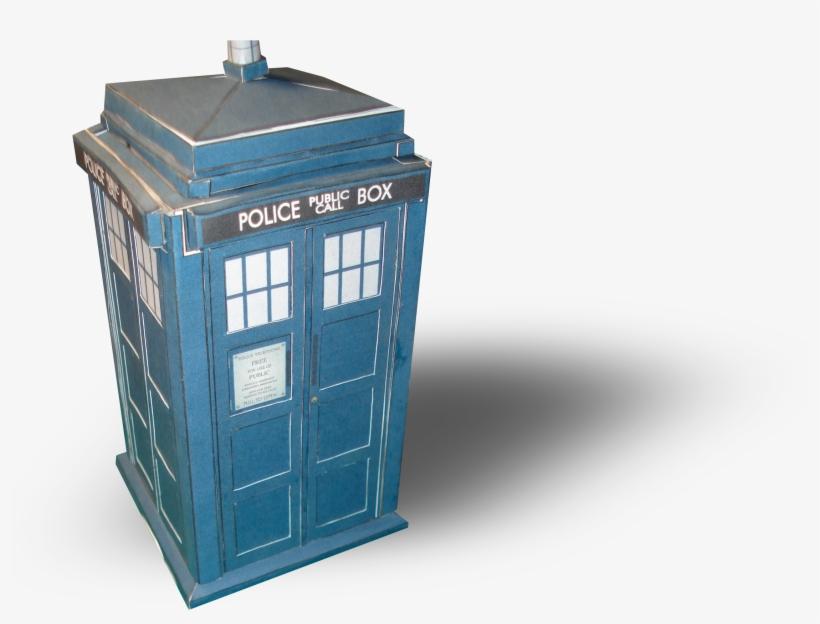 Doctor Who Tardis Papercraft Templates 7472 - Papercraft Tardis, transparent png #3247674
