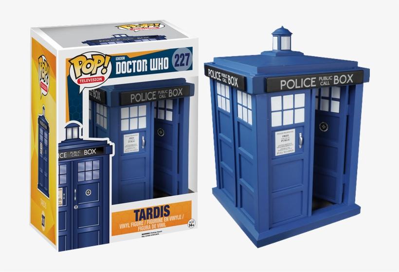 Tardis Pop Vinyl Figure - Funko Pop Doctor Who Tardis, transparent png #3247804