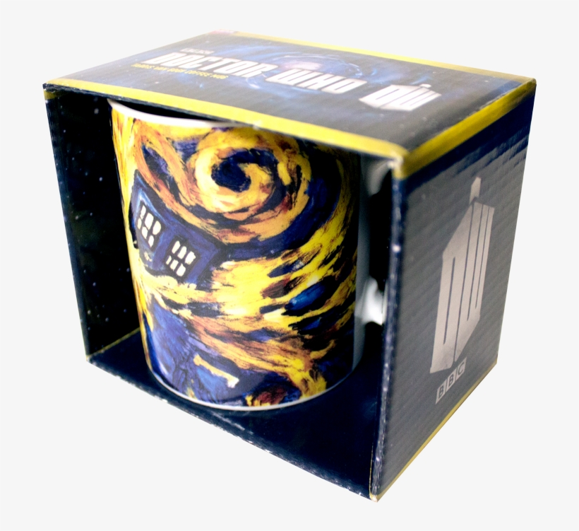 Tardis Van Gogh Coffee Mug - Doctor Who: Mug: Van Gogh Exploding Tardis, transparent png #3247870