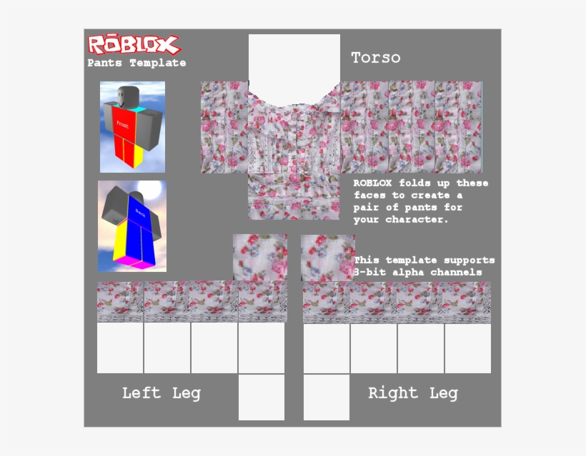 Roblox T Shirt Shading European Style Shading Pattern Roblox Cargo Pants Template Free Transparent Png Download Pngkey