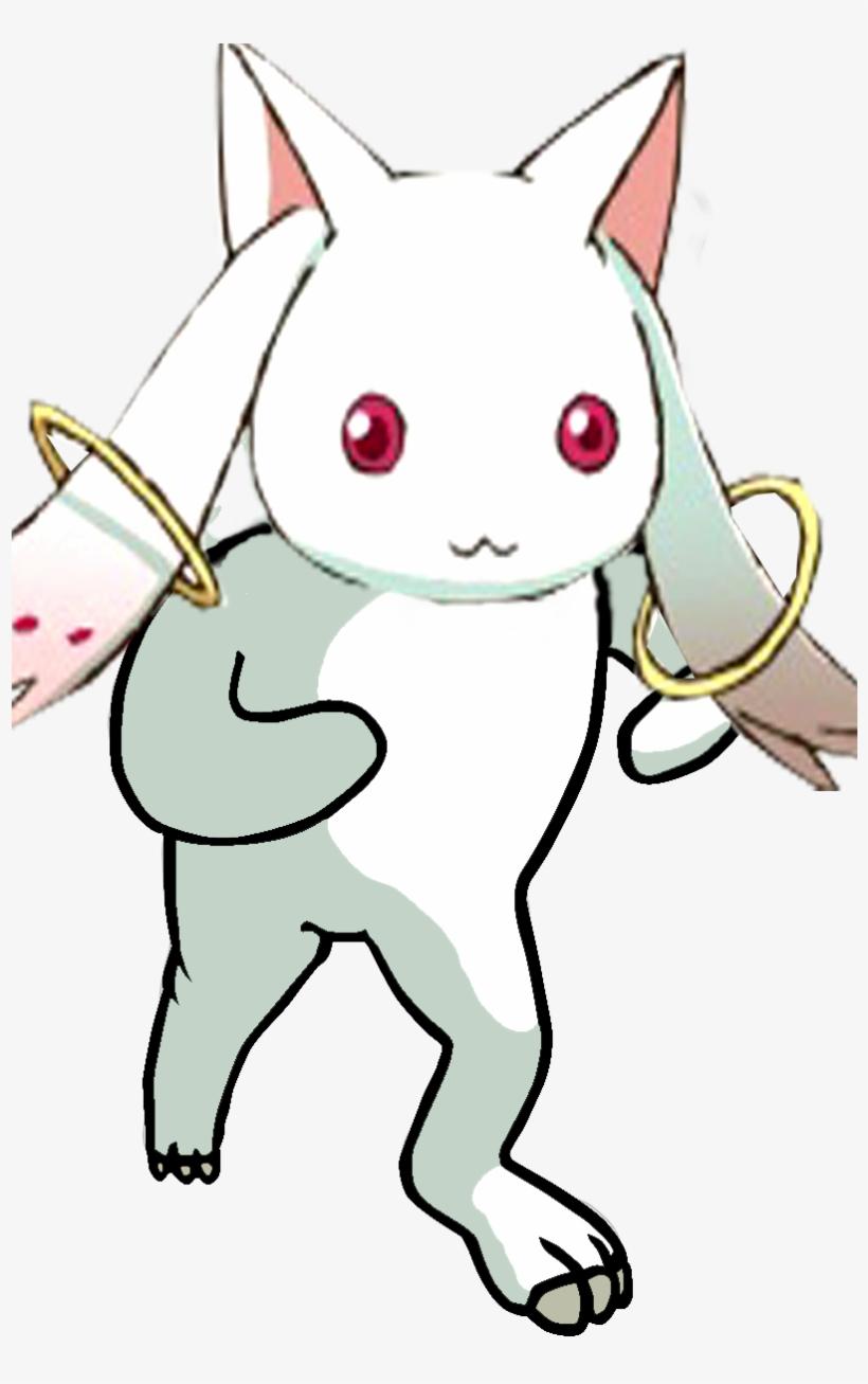 Cat White Pink Mammal Small To Medium Sized Cats Vertebrate - Pedo Bear, transparent png #3248698