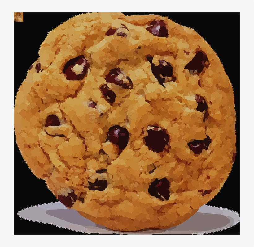 Chocolate Chip Cookie Cookie Clip Art, transparent png #3249545