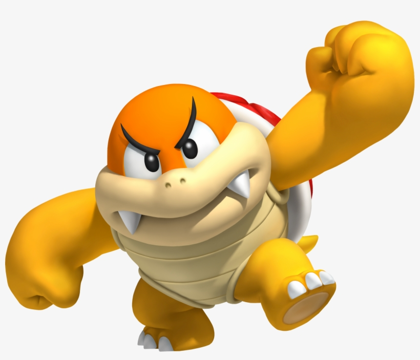 In Common With The Koopa Troopa Species Period - Boom Boom Mario, transparent png #3251419