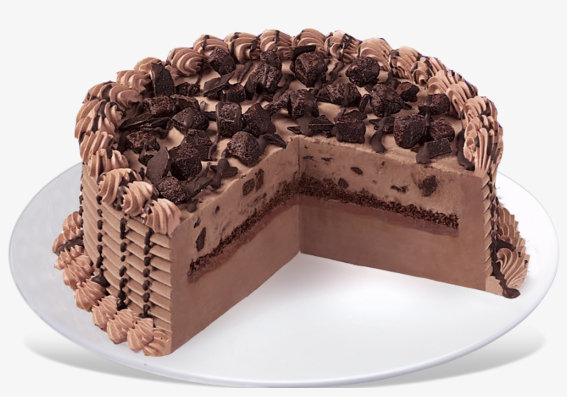 Choco Brownie Extreme Blizzard® Cake - Chocolate Xtreme Blizzard Cake, transparent png #3253217