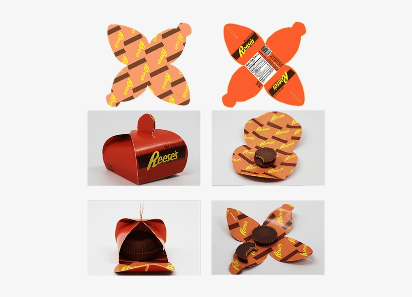 I Wanted To Redesign The Packaging Of Reese's - Reese's Peanut Butter Cups, transparent png #3253456