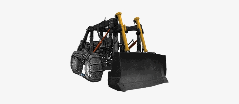 Bulldozer - Diy Tractor Plans Open Source Ecology, transparent png #3253917