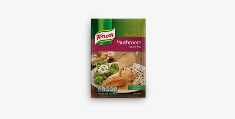 Mushroom Creaam Sauce - Knorr Select Sauces Hot Pepper Sauce Mix 27g (27gm, transparent png #3256839