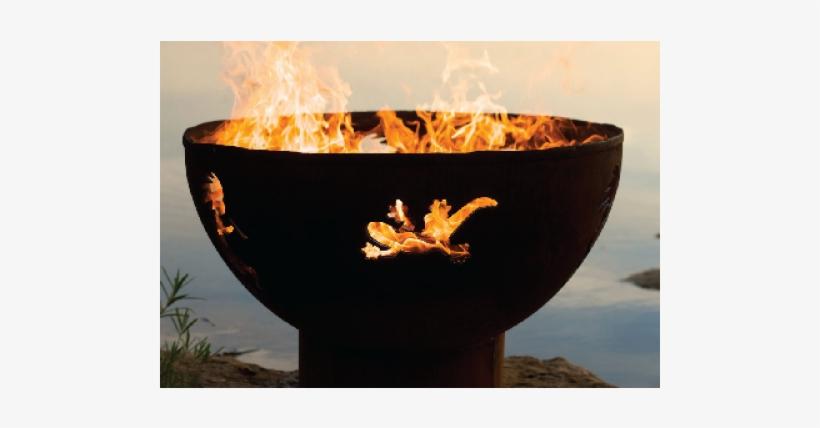 Fire Pit Art Kokopelli Fire Pit, transparent png #3257400