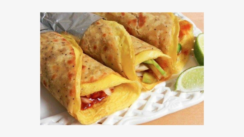 Egg Paneer Roll - Make Egg Roll In Hindi, transparent png #3258310