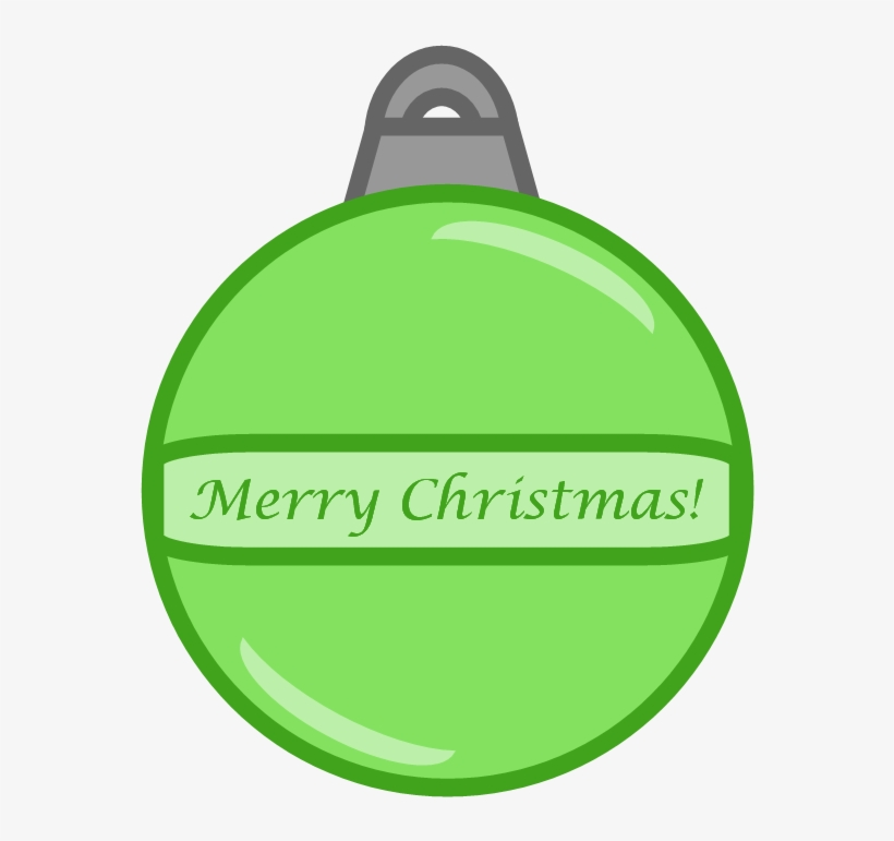 These Four Christmas Ornaments Come In Colors Of Red, - Clip Art, transparent png #3261152