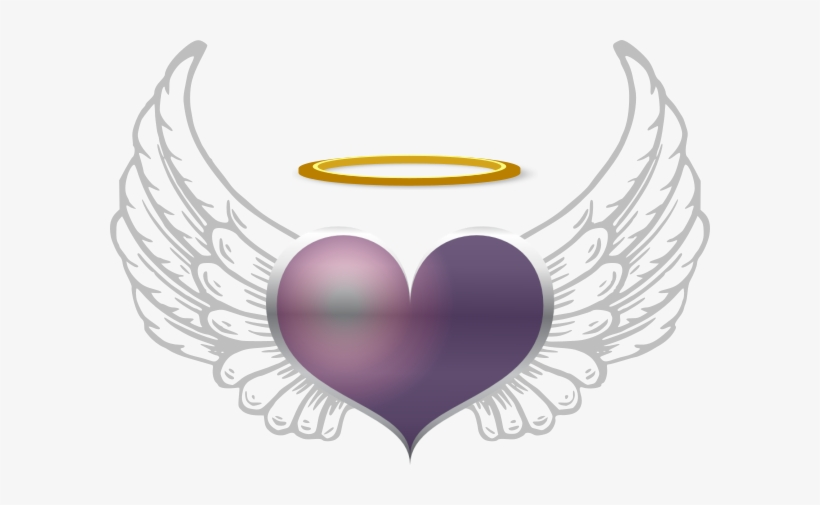Angel Wings Clip Art Source - Angel Wings Outline Png, transparent png #3261290