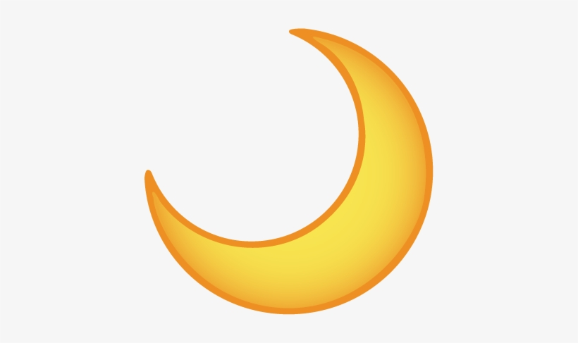 moon emoji transparent