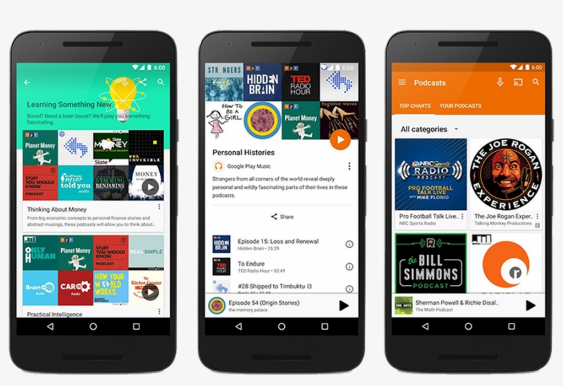 Welcome To Google Play Music, The Podcast Episode - Google Play Music, transparent png #3262270