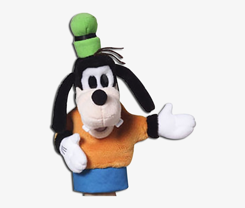 Disney's Plush Goofy Hand Puppet - Mickey Mouse And Friends, transparent png #3263210