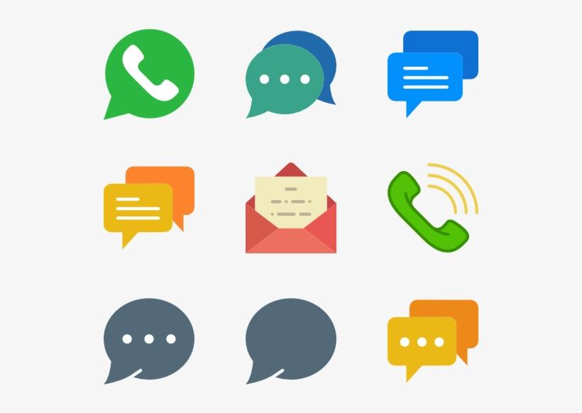 Dialogue Assets - Speech Bubble Icon Flat, transparent png #3264788