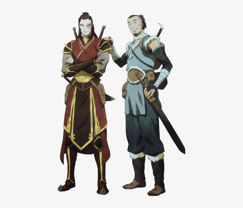 Parallels Aang Sokka Avatar A Avatar The Last Airbender Armor
