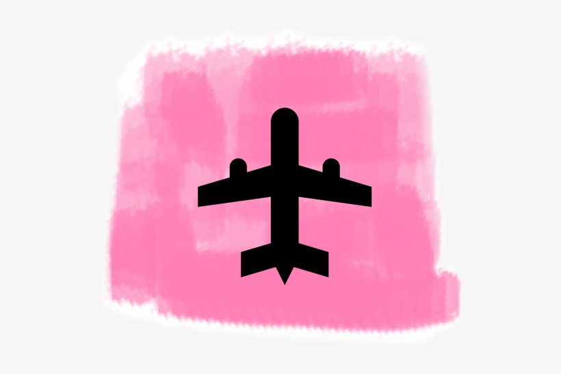 Travelling Travel Airplane Pink Instagram Highlights - Instagram Highlights Icons Travel, transparent png #3268466