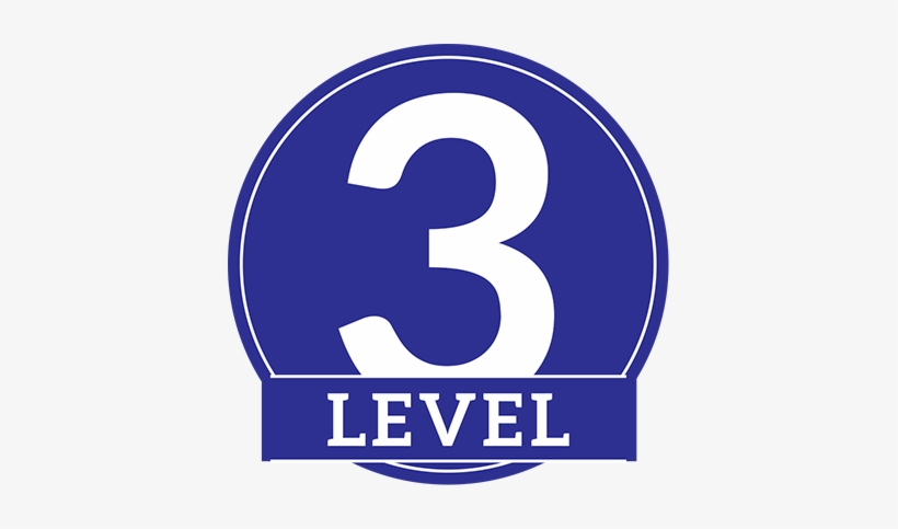Qualify As Level Iii Executive Consultant Rodan And - Level 3 Png, transparent png #3268550