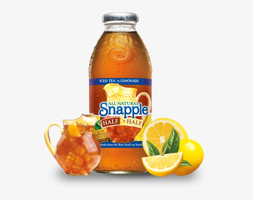 Roger White, Chief Executive Of Ag Barr, Comments - Snapple Half 'n Half Iced Tea, Lemonade - 16 Fl Oz, transparent png #3269173