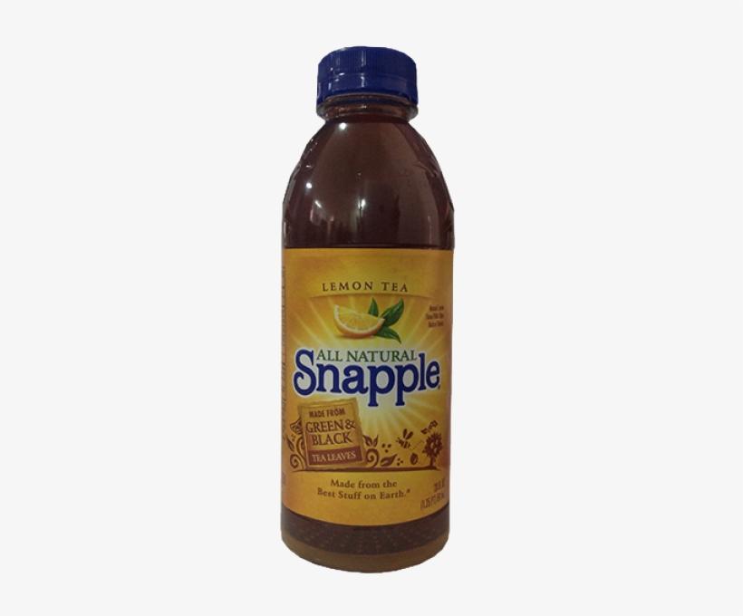 Snapple Lemonade Iced Tea - 16 Fl Oz Bottle, transparent png #3269306